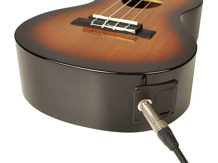 1 Stück E-Gitarre Bass vier Saiten Pickup Violine Ersatzteile E-Gitarre